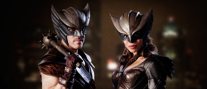 Legends of Tomorrow Reveals Hawkman & Hawkgirl Costumes