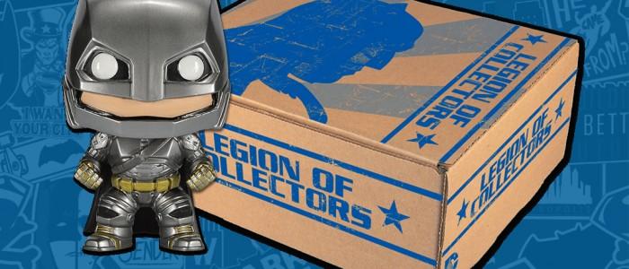 Comic Uno's Unboxing for DC Comics' Legion of Collectors: Batman Vs Superman