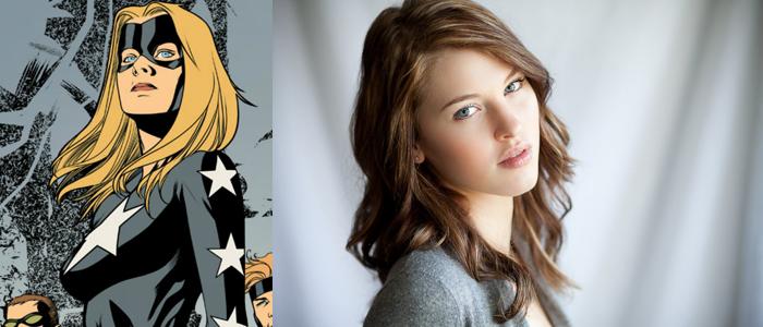 Legends Of Tomorrow: Sarah Grey Cast As Stargirl