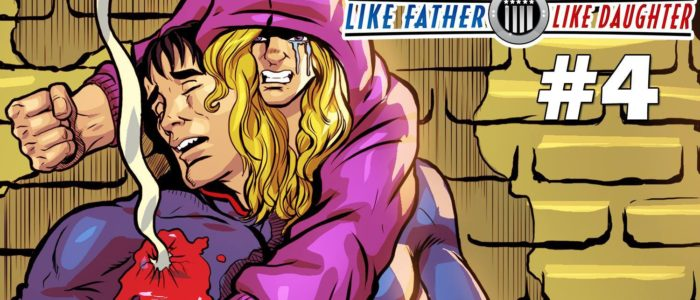 Kat Calamia Launches Kickstarter for Her Comic Book Like Father, Like Daughter #4