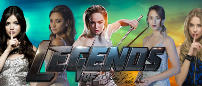 Legends Of Tomorrow Podcast DCTV Charity 2017: Legends Of Pretty Little Liars